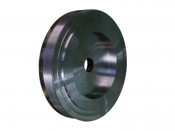 Poly-V steel pulley